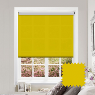 Yellow Roller Blind - Astral Solar